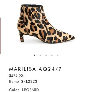 Aquatalia marilisa booties